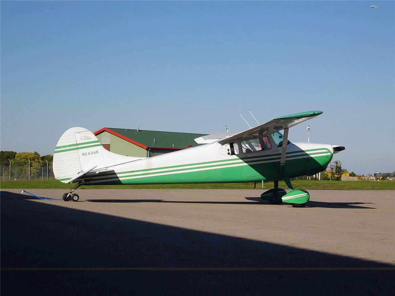 Cessna 170-Plans : Laser Design Services